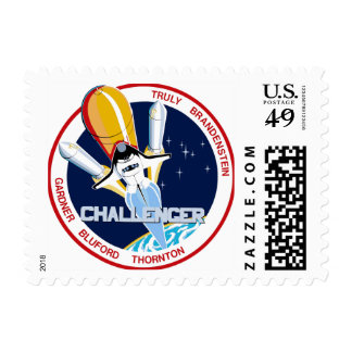 STS-8: Cha Postage Stamp