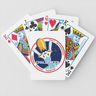 STS-8: Challenger:  1st Night Landing Bicycle Playing Cards