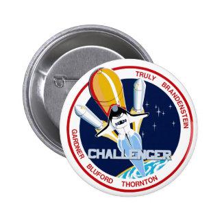 STS-8: Challenger:  1st Night Landing Button