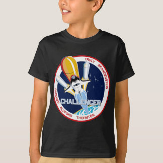STS-8: Challenger:  1st Night Landing T-Shirt