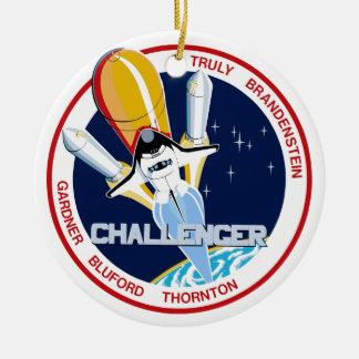 STS-8 Desafiador 1r Aterrizaje de noche Ornato