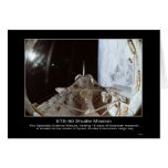 STS-90 NeuroLab Space Module. Greeting Cards