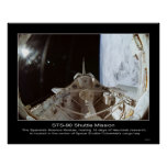 STS-90 NeuroLab Space Module. Posters