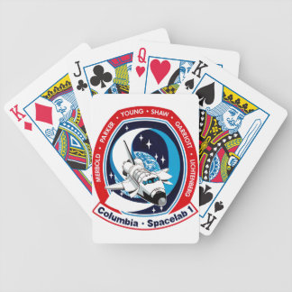 STS 9 Columbia: SKYLAB Bicycle Playing Cards