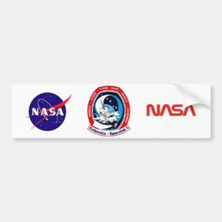 STS 9 Columbia: SKYLAB Car Bumper Sticker