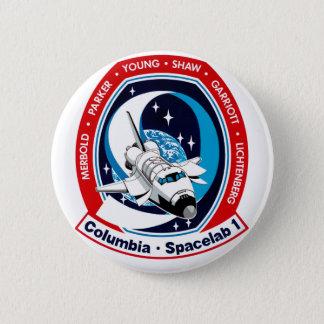 STS 9 Columbia: SKYLAB Pinback Button