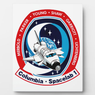 STS 9 Columbia: SKYLAB Plaque