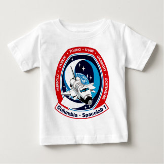 STS-9 Columbia:  SPACELAB Baby T-Shirt