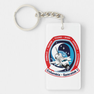 STS-9 Columbia:  SPACELAB Keychain