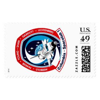 STS-9 Columbia:  SPACELAB Postage