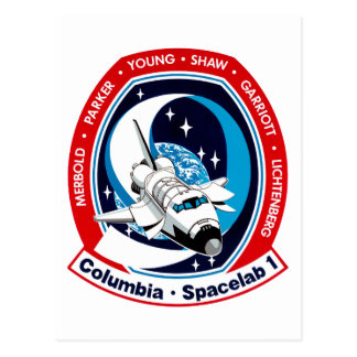STS 9 Columia: Lauch de Skylab Tarjeta Postal