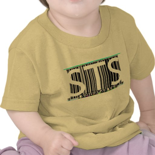 STS Barcode Baby Tee