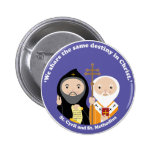 Sts. Cyril and Methodius 2 Inch Round Button