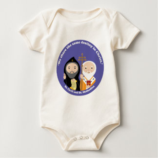 Sts. Cyril and Methodius Baby Bodysuit