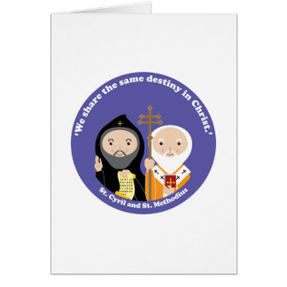 Sts. Cyril and Methodius Card
