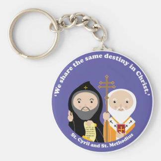 Sts. Cyril and Methodius Keychain