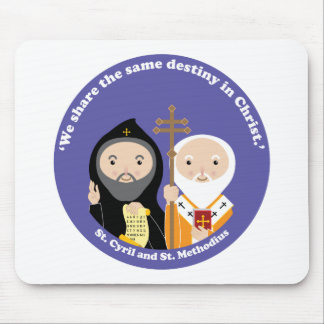 Sts. Cyril and Methodius Mouse Pad