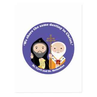 Sts. Cyril and Methodius Postcard
