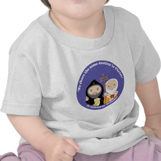Sts. Cyril y Methodius Camisetas