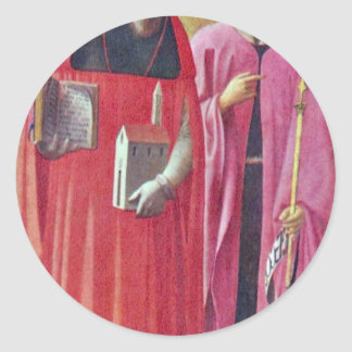Sts. John The Baptist And Jerome By Masaccio (Best Stickers