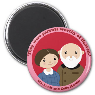 Sts. Louis and Zelie Martin Magnet
