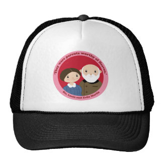 Sts. Louis and Zelie Martin Trucker Hat