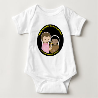 Sts. Perpetua and Felicity Baby Bodysuit