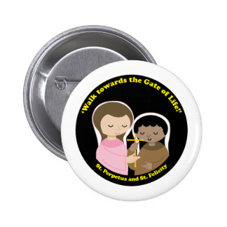 Sts. Perpetua and Felicity Button