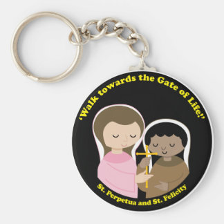 Sts. Perpetua and Felicity Key Chain