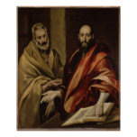 Sts Peter y Paul Poster