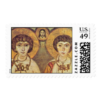 Sts Sergius and Bacchus Postage Stamp