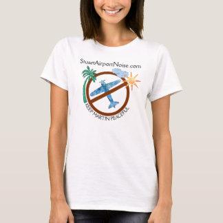 Stuart Airport Noise Support Keep Martin Peaceful T-Shirt