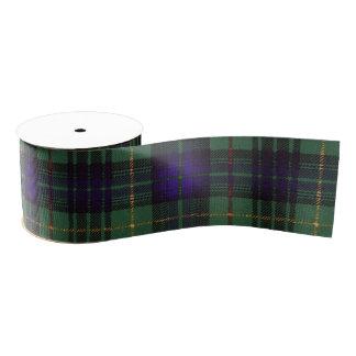 Stuart clan Plaid Scottish kilt tartan Grosgrain Ribbon