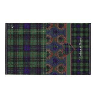 Stuart clan Plaid Scottish kilt tartan iPad Covers
