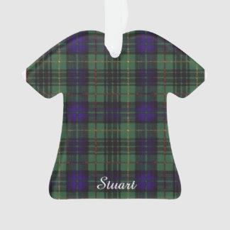 Stuart clan Plaid Scottish kilt tartan Ornament