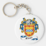 Stuart Family Crest Key Chains