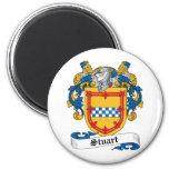 Stuart Family Crest Magnets