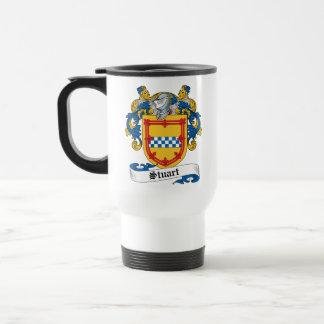 Stuart Family Crest Travel Mug