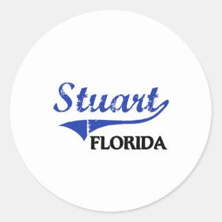 Stuart Florida City Classic Stickers
