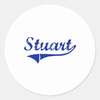 Stuart Florida Classic Design Sticker