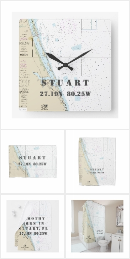 Stuart, Florida Nautical Collection for Home