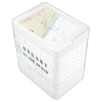 Stuart Florida Nautical Latitude Longitude Boater Cooler