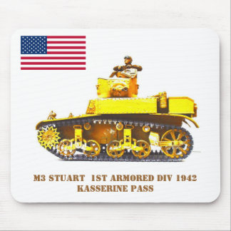 Stuart Light Tank Mouse Mats