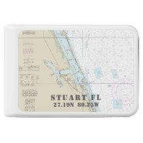 Stuart Nautical Chart Latitude Longitude Power Bank