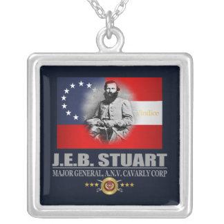 Stuart (Southern Patriot) Square Pendant Necklace