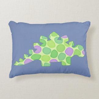 Stuart the stegosaurus accent pillow