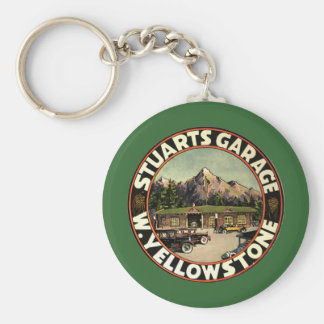 Stuart's Garage Yellowstone Keychain