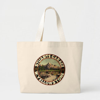 Stuart's Garage Yellowstone Large Tote Bag