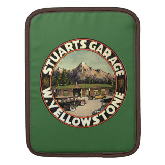 Stuart's Garage Yellowstone Sleeves For iPads