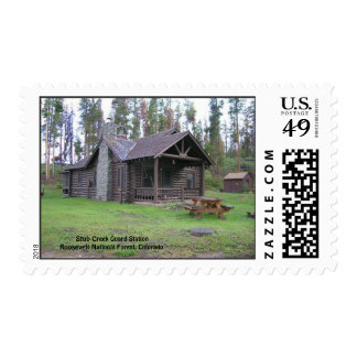Stub Creek Guard Station Postage